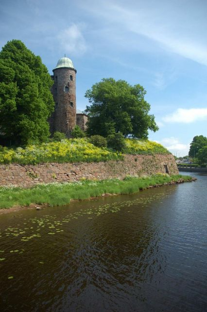 Вид на крепостную стену